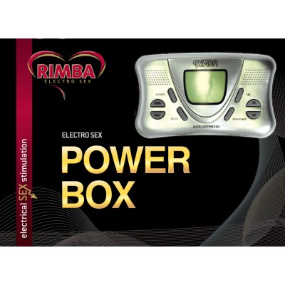 Electro Sex Powerbox set met LCD display
