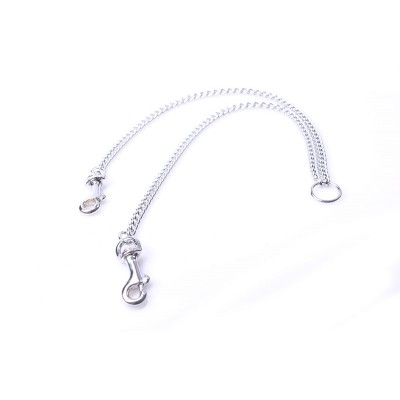 Linking Chain with Connectors - dun - large