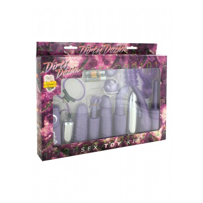 Dirty Dozen Sex Toy Kit Purple