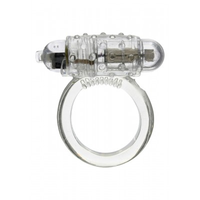 Vibrating Cockring Clear
