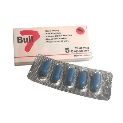 BULL 7 - 5 supersterke capsules - BESTE KOOP